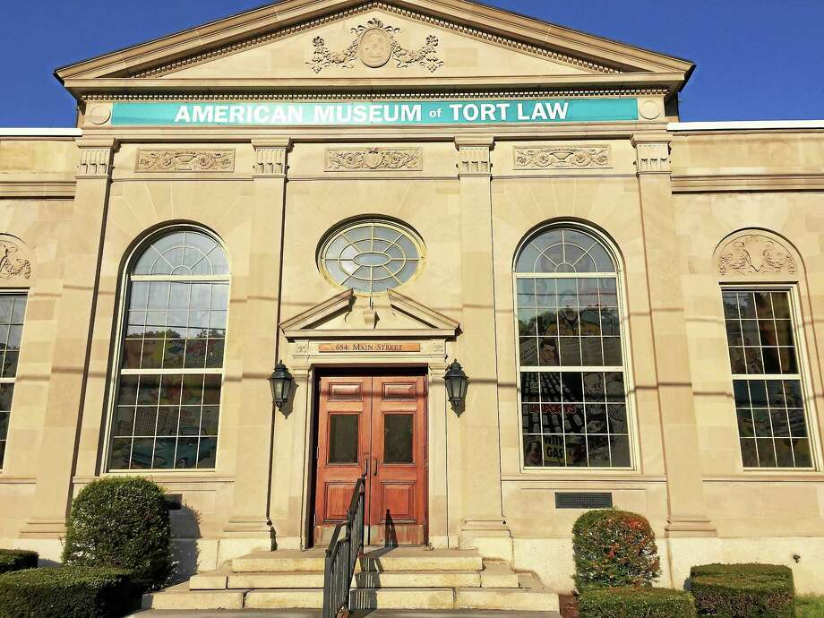 The American Museum of Tort Law at 654 Main St. in Winsted. Photo: Register Citizen File Photo