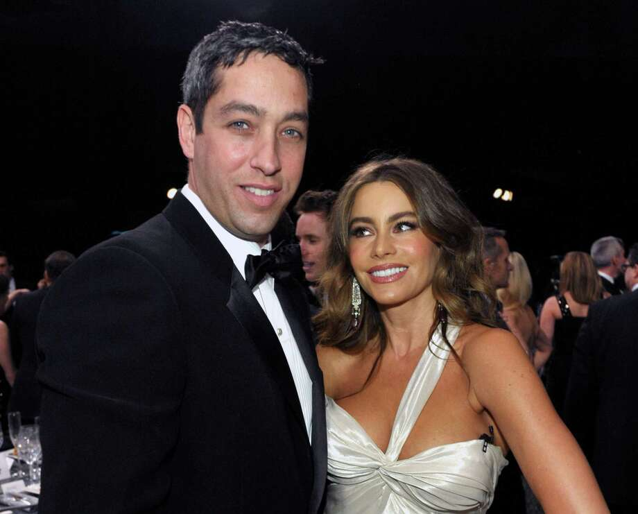 FILE - In this Jan. 27, 2013, file photo Nick Loeb, left, and Sofia Vergara pose in the audience at the 19th Annual Screen Actors Guild Awards at the Shrine Auditorium in Los Angeles. Vergaraís former fiance Loeb said in op-ed heís written that he sued the ìModern Familyî star to protect their frozen embryos because he longs to become a parent and doesnít want the ìtwo livesî he created to ìbe destroyed or sit in a freezer until the end of time.î(Photo by John Shearer/Invision/AP, File) Photo: John Shearer/Invision/AP / Invision
