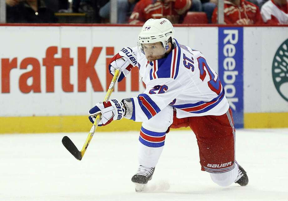 New York Rangers forward Martin St. Louis is retiring after 16 NHL seasons, seven All-Star selections and one Stanley Cup with the Tampa Bay Lightning. Photo: Paul Sancya — The Associated Press File Photo  / AP