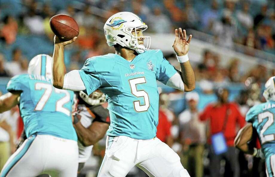 The Indianapolis Colts signed quarterback Josh Freeman on Tuesday. Photo: The Associated Press File Photo  / AP