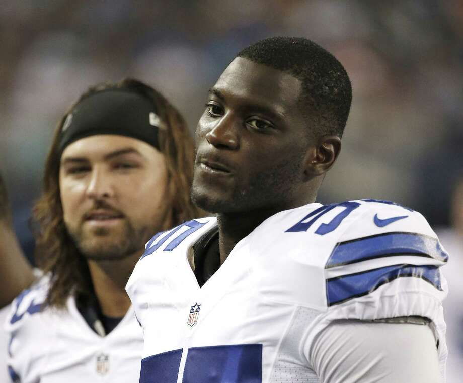 Dallas Cowboys linebacker Rolando McClain has been suspended for the first four games for violating the NFL's substance abuse policy. Photo: Brandon Wade — The Associated Press File Photo  / FR168019 AP