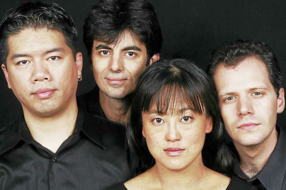 Contributed photoThe Avalon String Quartet performs at Music Mountain Sunday, July 24 with pianist Soyeon Kate Lee. Photo: Journal Register Co.