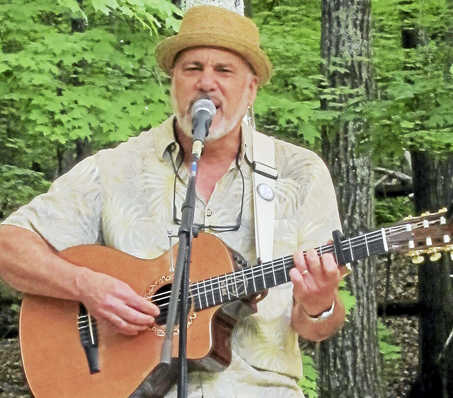 Contributed photoDr. Steve performs at the Good News Cafe in Woodbury this month. Photo: Journal Register Co.