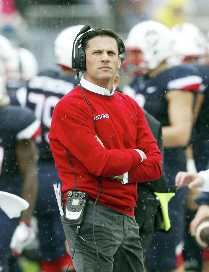 UConn head coach Bob Diaco. Photo: The Associated Press File Photo  / FR56276 AP
