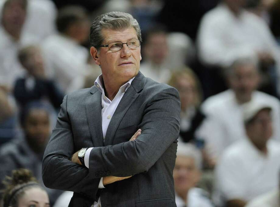UConn head coach Geno Auriemma. Photo: The Associated Press File Photo  / FR125654 AP