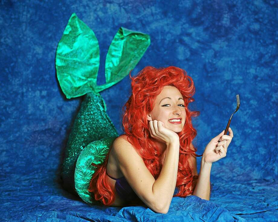 """Photo by Lisa Cherie Photography Becky Sawicki plays the role of Ariel in the upcoming production of """"The Little Mermaid"""" at the Thomaston Opera House. Photo: Journal Register Co. / Lisa Cherie Portrait"""