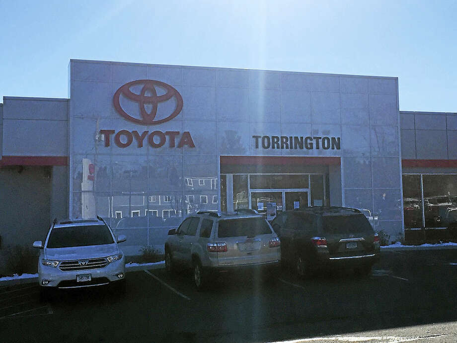 Torrington Toyota, as seen Wednesday on East Main Street. The dealership recently announced its plans to expand the facility. Photo: Ben Lambert — The Register Citizen