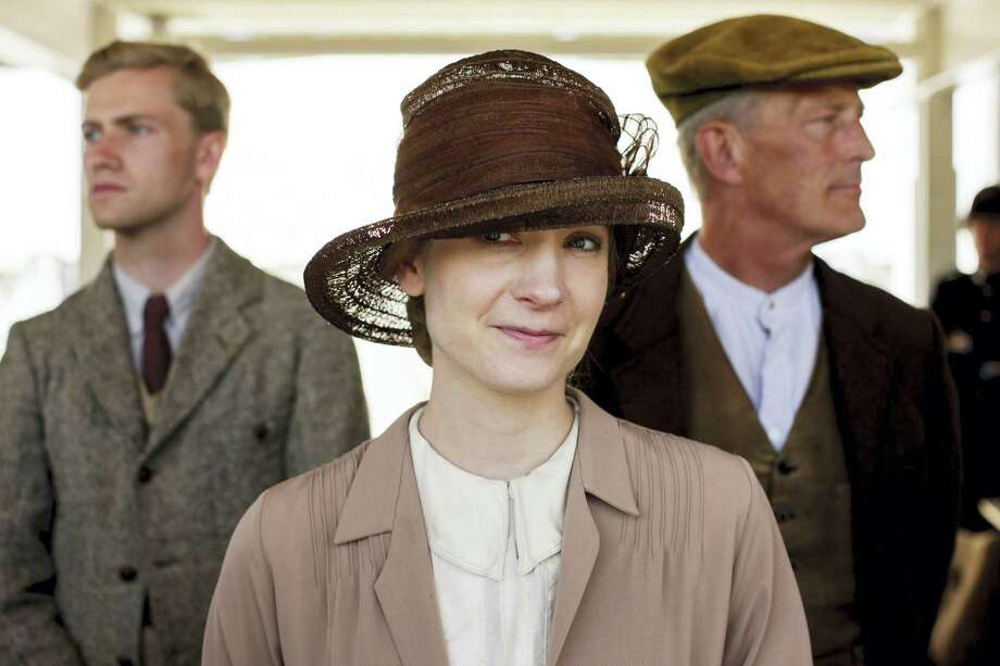 """In this image released by PBS,  Joanne Froggatt portrays Anna Bates in a scene from the final season of """"Downton Abbey."""" Froggatt will be is morphing into a 19th-century serial killer in PBS' mini-series """"Dark Angel."""" Photo: Nick Briggs/Carnival Film & Television Limited 2015 For MASTERPIECE Via AP  / PBS"""