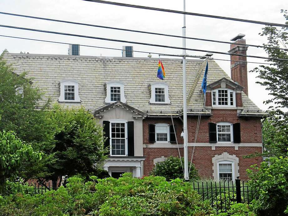 The governor's residence in Hartford. Photo: FILE PHOTO