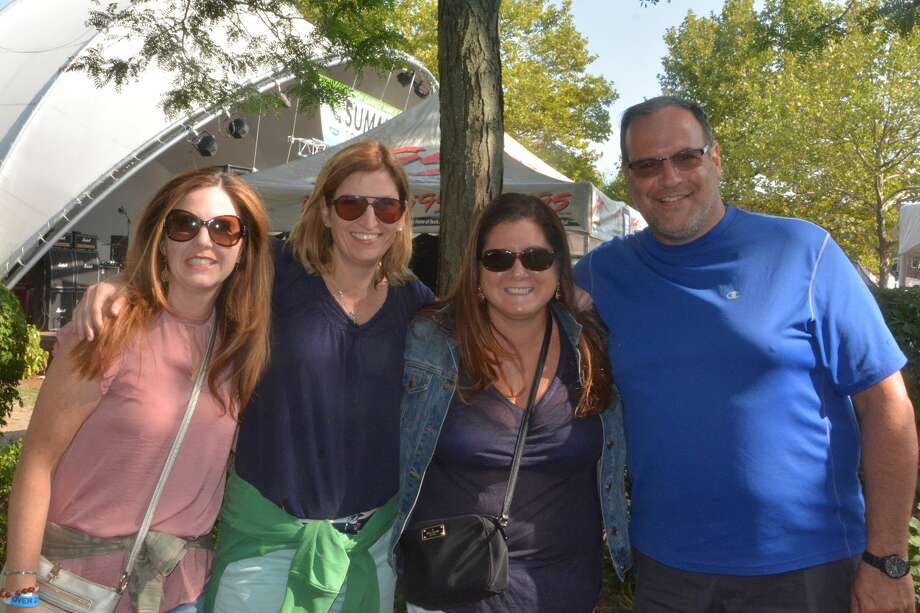 The Danbury Bacon and Brew festival was held on the City Center Green in Danbury on August 26, 2017. Festival goers enjoyed live music, craft beer and local bacon dishes. Were you SEEN? Photo: Vic Eng / Hearst Connecticut Media Group