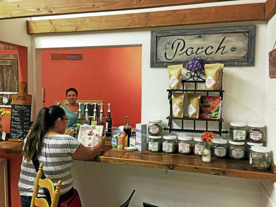 Ben Lambert - The Register CitizenA smoothie bar was recently opened in Act Natural Health and Wellness, which is located at 24 Water Street in Torrington. Photo: Journal Register Co.