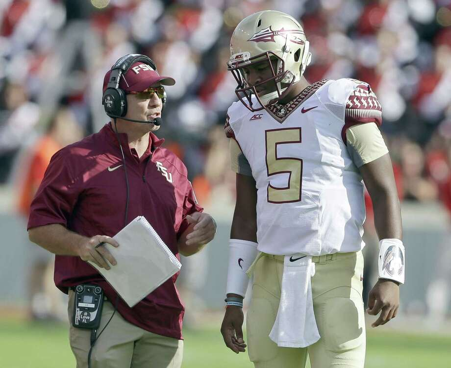 Florida State quarterback Jameis Winston is expected to be the top overall pick in Thursday's NFL draft. Photo: The Associated Press File Photo  / AP