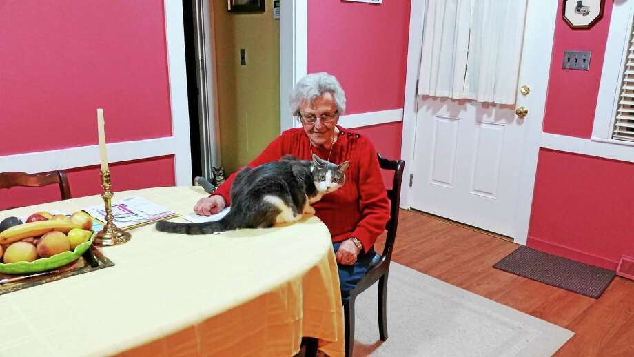 Shirley MacCallum, North Canaan, started the MacCallum Family Fund for Animal Welfare. Photo: Photo By N.F. Ambery