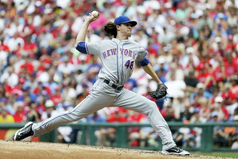 Jacob deGrom tossed a one-hitter in Sunday's win over the Phillies. Photo: Matt Slocum — The Associated Press  / Copyright 2016 The Associated Press. All rights reserved. This material may not be published, broadcast, rewritten or redistribu