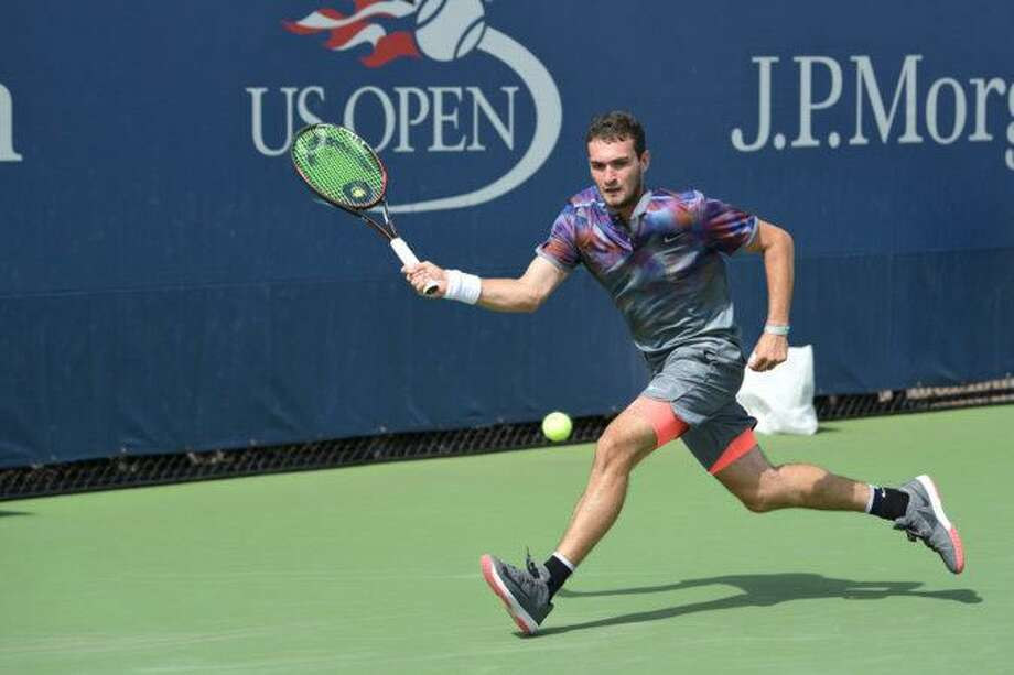 Greenwich native William Blumberg received a wild card entry into the US Open qualifier, which he played in Wednesday at the USTA Billie Jean King National Tennis Center in Flushing Meadows, N.Y. Photo: Contributed Photo / Contributed Photo / Greenwich Time Contributed