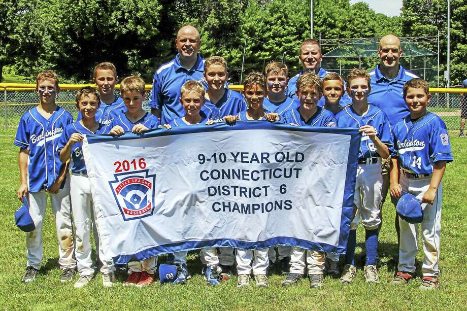 Photo by Marianne KillackeyBurlington wins the District 6 Little League 9-10-year-old championship. Photo: Journal Register Co. / 2015