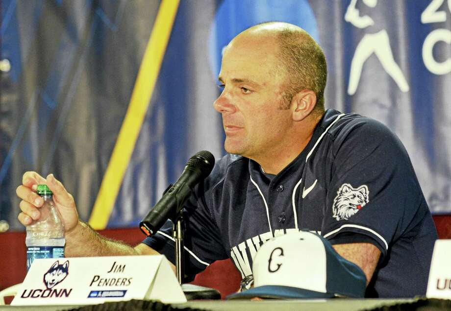 UConn baseball coach Jim Penders has seen the Mets select a number of his players over the years. Photo: Michael Shroyer — The Associated Press   / FR 170944 AP