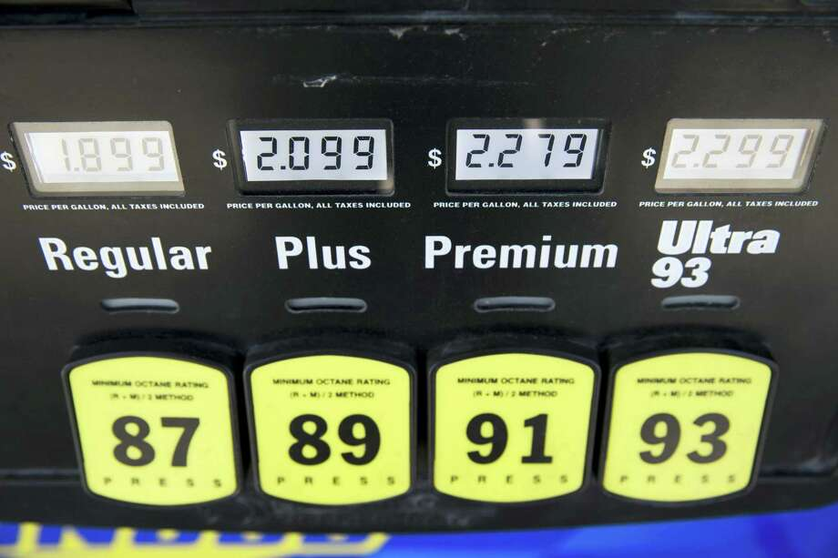 Gasoline prices are displayed at a filling station, Wednesday, March 2, 2016, in Philadelphia. Gasoline prices are expected to keep rising until summer but remain far cheaper than in recent years, due to the worldwide glut of oil. Photo: AP Photo/Matt Rourke   / AP