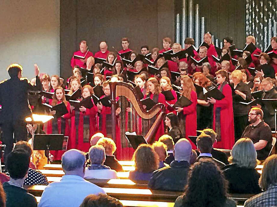 Contributed photoChorus Angelicus and Gaudeamus will perform March 19 in Torrington. Photo: Journal Register Co.