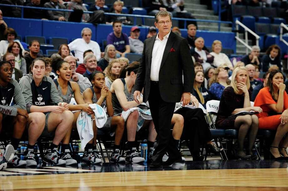 UConn coach Geno Auriemma. Photo: The Associated Press File Photo  / AP2015