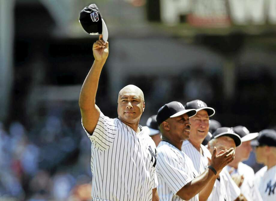 The New York Yankees are retiring the uniform number of Bernie Williams before the May 24 game against Texas. Photo: Kathy Willens — The Associated Press File Photo  / AP