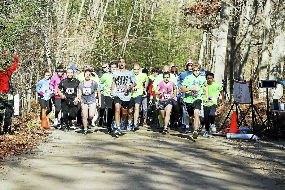 Contributed photos The Glenholme School recently held its 5K Run For Autism. Photo: Digital First Media