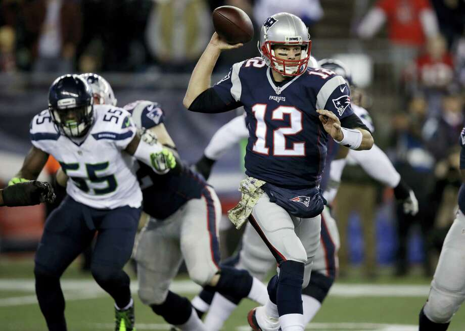 Quarterback Tom Brady and the Patriots will face the 49ers Sunday in San Francisco. Photo: Charles Krupa — The Associated Press  / Copyright 2016 The Associated Press. All rights reserved.
