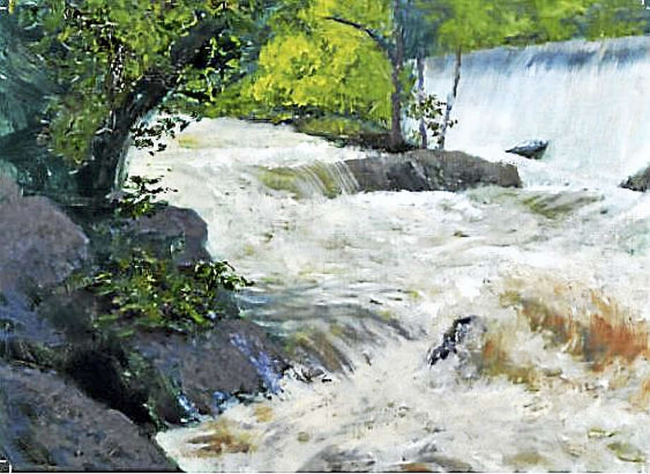 "Contributed photo ""In the Hood,"" an exhibit of recent landscape paintings by Kent artist Robert Lenz opens July 16 at Morrison Gallery in Kent. Above, Bull's Bridge After Storm. Photo: Journal Register Co."