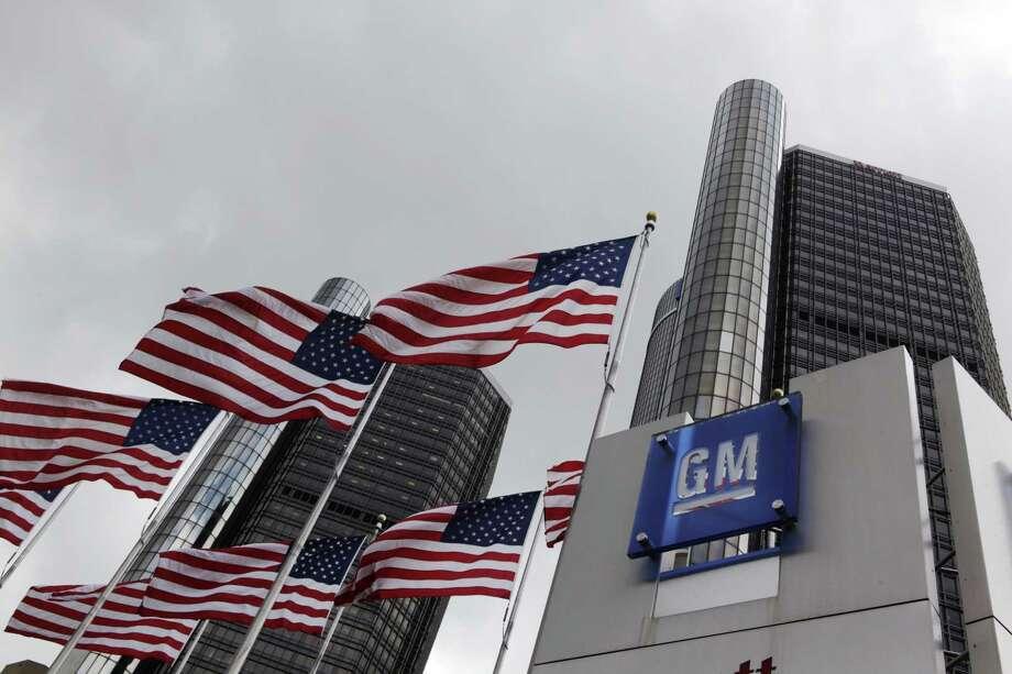 General Motors world headquarters in Detroit. Photo: AP Photo/Paul Sancya, File  / AP