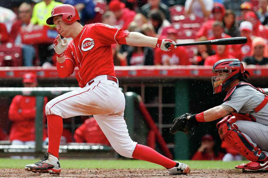 All-Star third baseman Todd Frazier has been dealt from the Reds to the White Sox as part of a three-team, seven-player trade that also includes the Dodgers. Photo: John Minchillo — The Associated Press File Photo  / AP