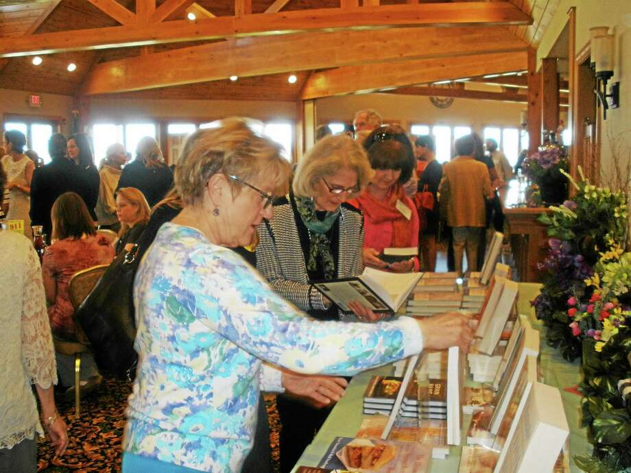 An annual author's luncheon on Saturday helped raise funds for the Susan B. Anthony Project. Photo: Photos By Stephen Underwood