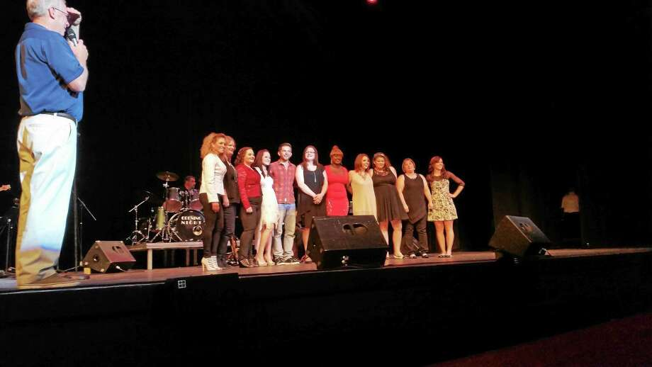 Photo by N.F. Ambery The winners are announced for the 2015 Northwest Idol competition at the Warner Theatre in Torrington. Photo: Journal Register Co.