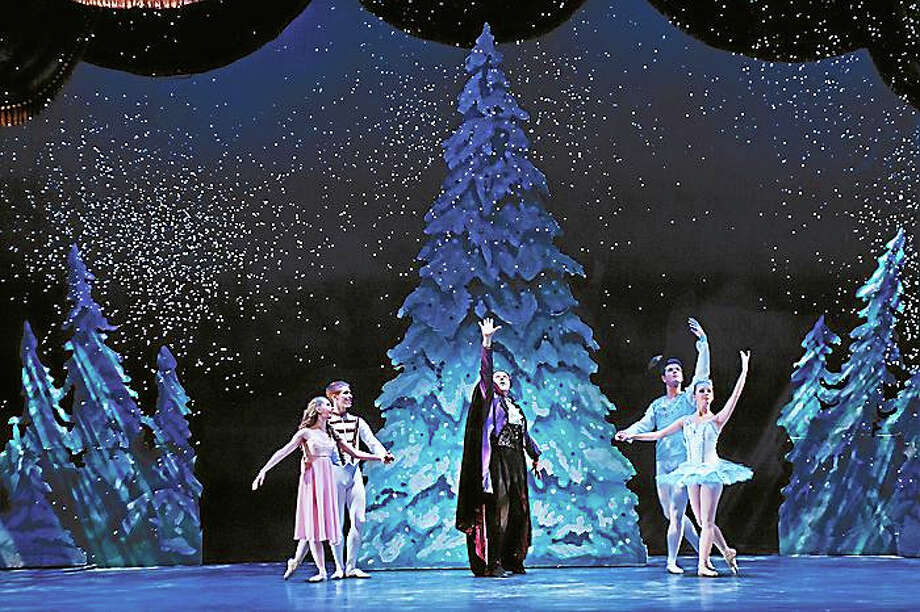 Photo courtesy of nutmegconservatory.orgA scene from this year's performance of The Nutcracker, presented by the Nutmeg Conservatory for the Arts in Torrington. The timeless holiday ballet will be presented at the Warner Theatre Dec. 19-20. Photo: Journal Register Co. / (c) DON PERDUE