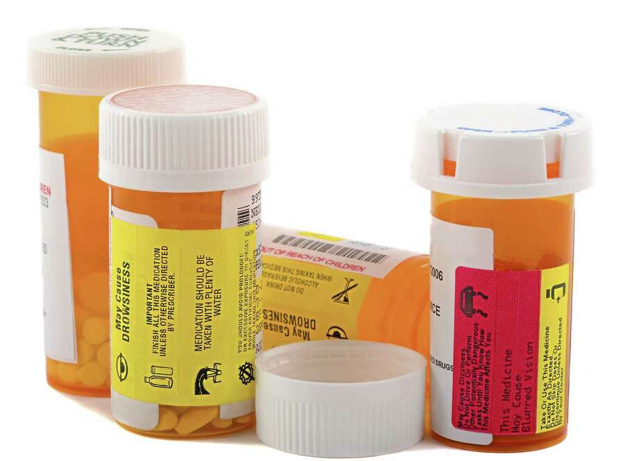 Different kinds of prescription medications can be dropped off at participating locations between 10 a.m. and 2 p.m. Saturday. Photo: Digital First Media File Photo  / iStockphoto