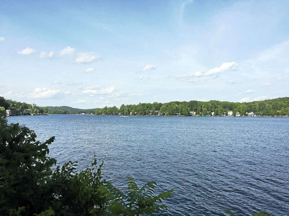 Ben Lambert - The Register CitizenHighland Lake in Winsted, as seen Tuesday. The Planning and Zoning Commission voted Monday to eliminate a regulation governing the expansion of existing nonconforming properties, including those around the lake.
