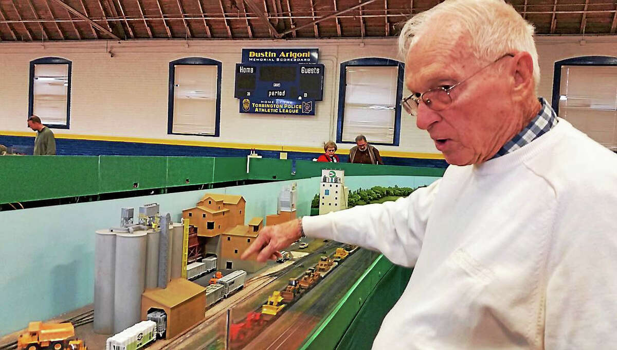 The 15th annual Holiday Model Train Show & Canned-Food Drive took place in Torrington this weekend. The event amassed non-perishable food items to be donated to the Friendly Hands Food Bank of Torrington.