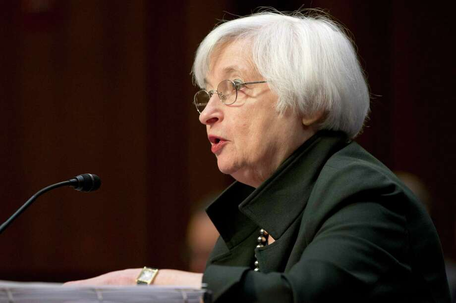 Federal Reserve Chair Janet Yellen testifies on Capitol Hill in Washington, Thursday, Dec. 3, 2015, before the Joint Economic Committee hearing on the economic outlook. Photo: AP Photo/Jacquelyn Martin  / AP