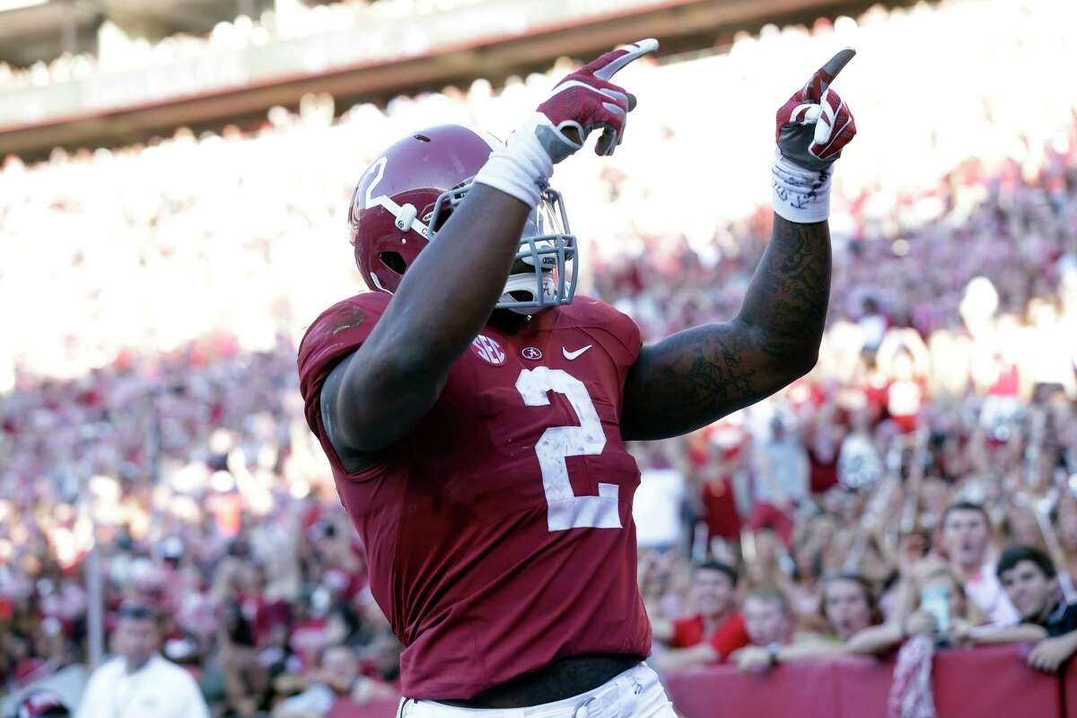 Alabama running back Derrick Henry is a first-team running back on the AP All-America team.