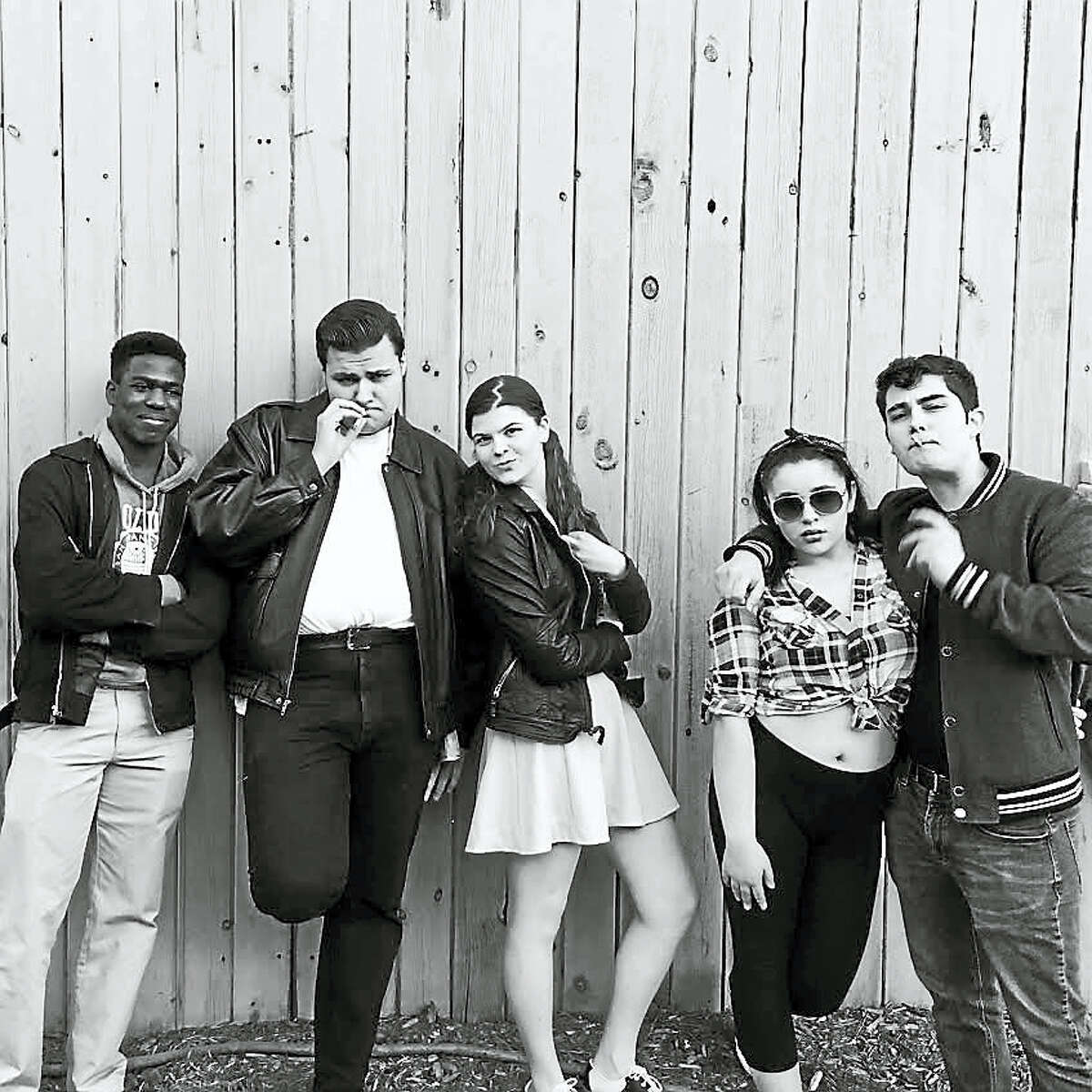 "Contributed photos - Torrington High SchoolThe cast of ""Grease"" at Torrington High School."