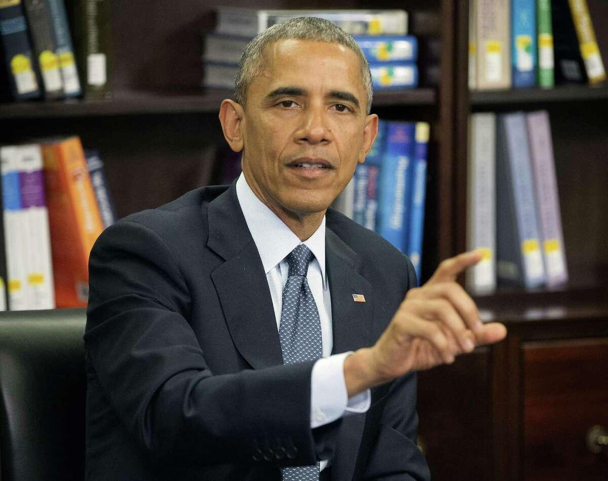 In this April 7 photo, President Barack Obama speaks at Howard University in Washington.