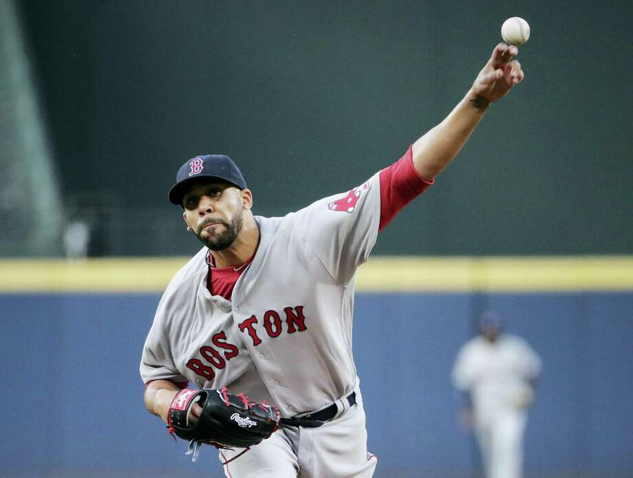 Red Sox starting pitcher David Price struck out 14 Braves on Tuesday. Photo: David Goldman — The Associated Press  / AP