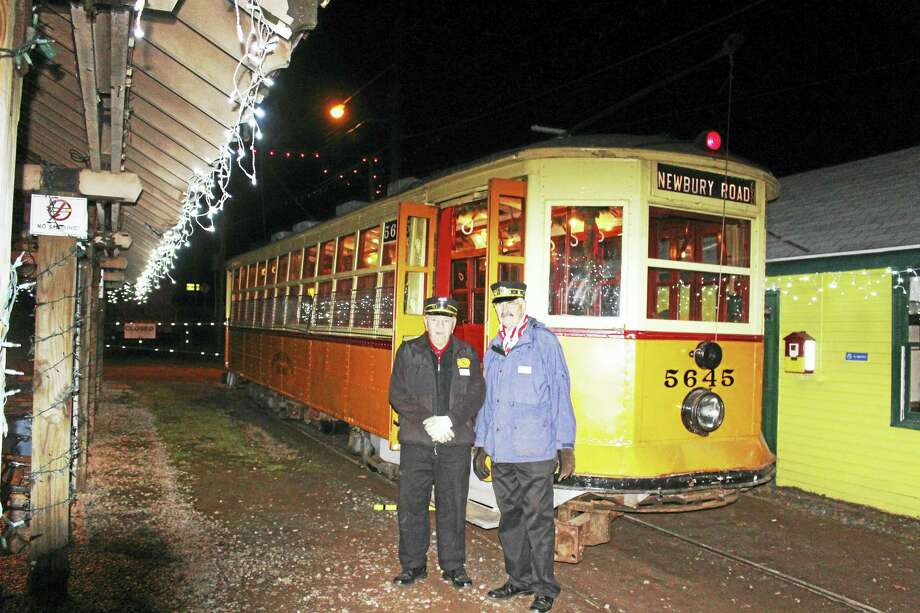 """The Connecticut Trolley Museum presents Winterfest 2016 and """"The Tunnel of Lights"""" beginning Friday, Nov. 25. Photo: Contributed Photo"""