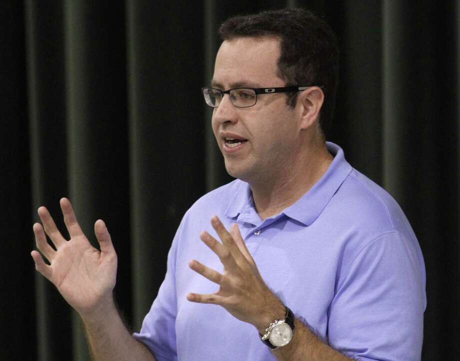 FILE - In this Sept. 18, 2013 file photo, longtime Subway front man Jared Fogle speaks to students about healthy eating and exercise at Battle Academy in downtown Chattanooga, Tenn. Photo: (Dan Henry/Chattanooga Times Free Press Via AP)  / Chattanooga Times Free Press