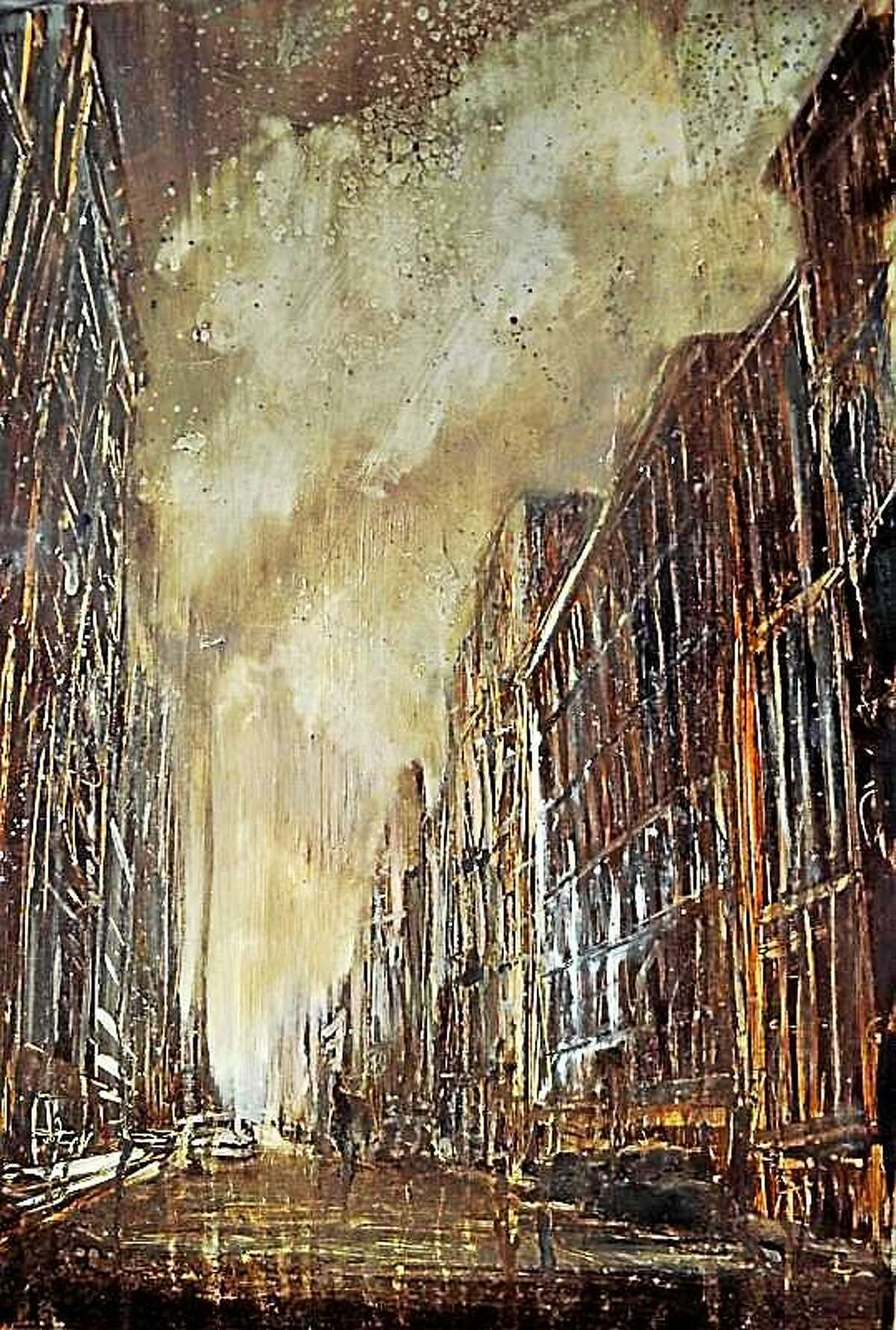 Contributed photo Grand Central Terminal, Chasing The Light, oil on steel, 30x40