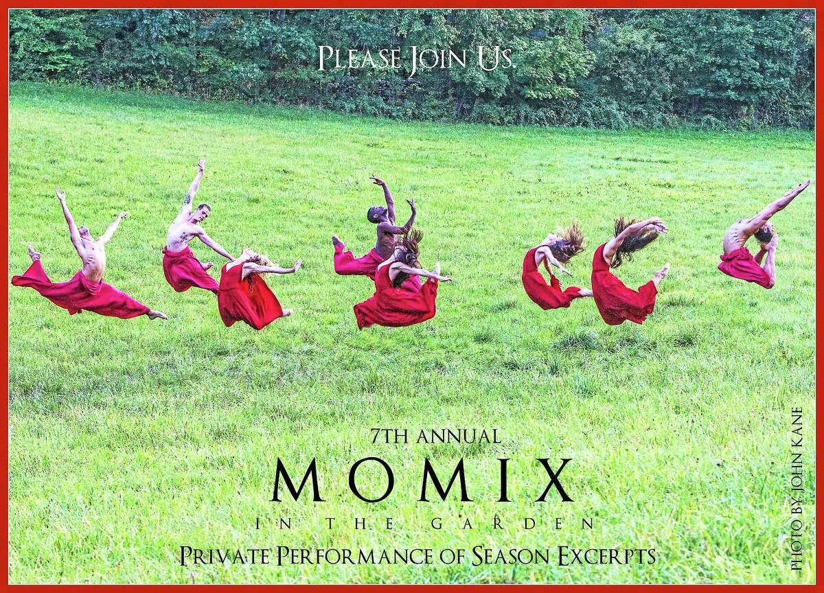 Contributed photo - MOMIX The 7th Annual MOMIX in the Garden fundraiser will be held at the home of Barbara and Eugene Kohn in Washington, Saturday, Aug.22, 5-7:30 p.m. The event will feature a private performance by MOMIX, a company of dancer-illusionists lead by Artistic Director Moses Pendleton and Associate Director Cynthia Quinn. Honorary Chairs are Dr. William and Christine Petit. The fundraiser will benefit Susan B. Anthony Project.