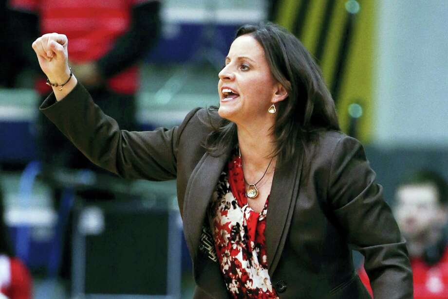 Jennifer Rizzotti replaced Jonathan Tsipis as the women's basketball coach at George Washington. Photo: The Associated Press  / AP