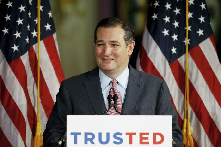 In this April 19, 2016 photo, Republican presidential candidate, Sen. Ted Cruz, R-Texas in Philadelphia. Photo: AP Photo/Matt Rourke, File  / Copyright 2016 The Associated Press. All rights reserved. This material may not be published, broadcast, rewritten or redistribu