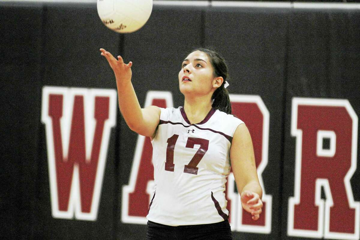 Jayleen Colon and the Red Raiders out-did Northwestern at one of the Highlander strengths, its serving, in Torrington's Class M semifinal win over the Highlanders Tuesday evening at Canton High School.