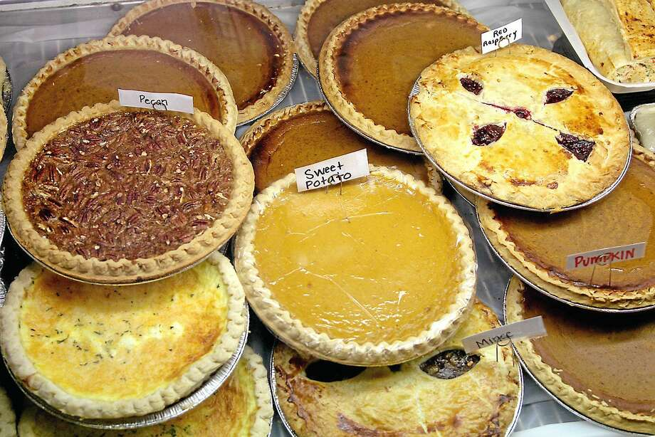 Some of the large selection of pies at a farmers market. Photo: Digital First Media File Photo