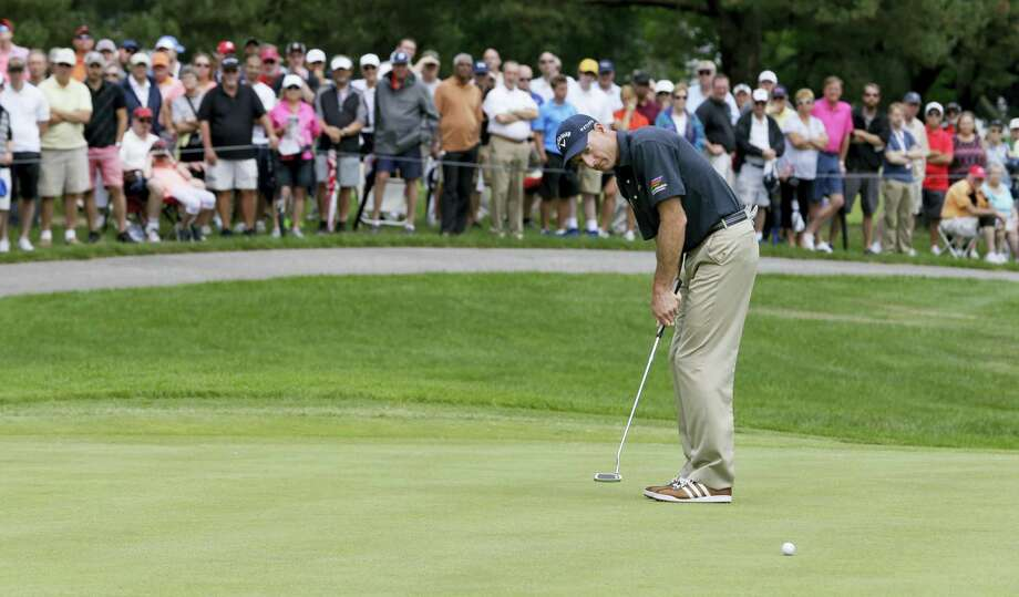 Former U.S. Open champion Jim Furyk has committed to play in the Travelers Championship. Photo: The Associated Press File Photo  / Copyright 2016 The Associated Press. All rights reserved. This material may not be published, broadcast, rewritten or redistribu